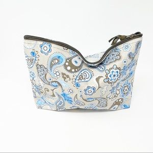 THIRTY ONE Gifts 31 Zipper Pouch Peacock Paisley